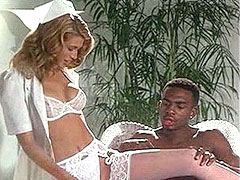 Amber Smith in sexual white panties,..