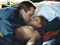 Naked celebrity Angie Everhart has sex..