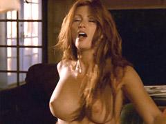 Naked Angie Everhart lesbian hardcore..