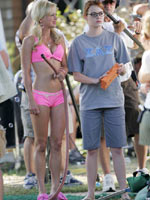 Paparazzi bikini photos of Anna Faris