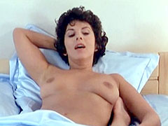 Nude Annie Jouzier with naked guy in..