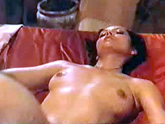 Barbara Carrera fully undressing and..