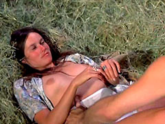 Nide Barbara Hershey spreads legs and..