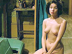 Naked Beatrice Dalle looks at hairy..