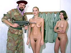 Brigitte Lahaie exposes naked body and..