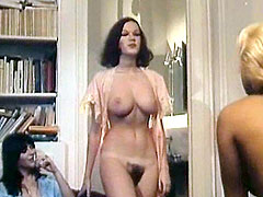 Fully naked young celebrity Brigitte Lahaie