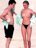 Cameron Diaz. Espy samples video with..