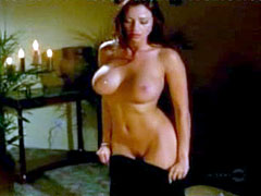 Busty model Candice Michelle naked,..