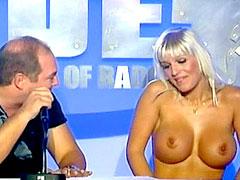 Busty model Carla Nova shows huge..