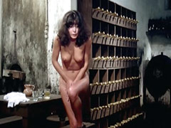 Carla Romanelli stripping down fully..