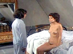 Shocking video, nude Carole Laure and young boy