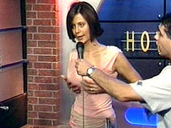 Sexy actress Catherine Bell on sex show