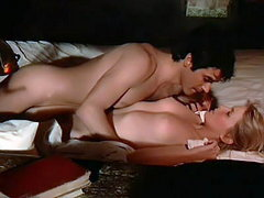 Bo Derek naked underneath a guy as..