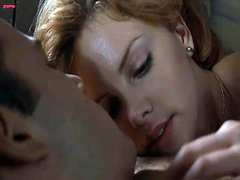 Charlize Theron nude has hot sex with..
