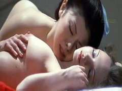 Christina Lindberg nude in hot lesbian..