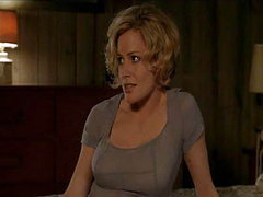 Elisabeth Shue being groped from behind in this hot scene with Woody Harrelson. From Palmetto.