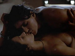 Indira Varma completely nude as she..