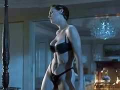 Jamie Lee Curtis doing a sexy dance in..