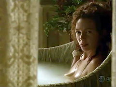 Joanne Whalley nude in bathtub showing..