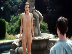 Keira Knightley undressing down to her..