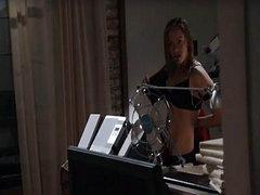 Kristanna Loken nude taking a shower,..