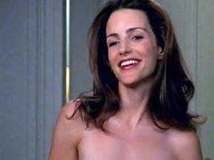Kristin Davis nude showing her nice breasts in various hot scenes, includes sex scene. From Sex..
