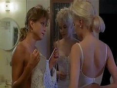 Kristy McNichol seen in a bathroom..
