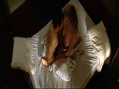 Laura Dern seen riding a guy while they have sex, and then showing us her breasts as she stands in..