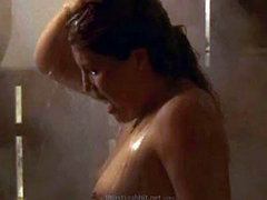 Lumi Cavazos naked taking a shower,..