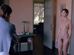 Mathilda May naked showing her bare..
