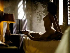 Natalia Verbeke first standing topless..