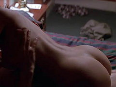 Natasha Henstridge first seen nude and..
