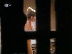 Pia Zadora nude as she lowers herself..