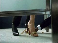 Rebecca Romijn in a great lesbian..