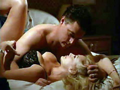 Shannon Tweed in some black lingerie..