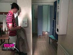 Siwan Morris naked in bathroom while a..