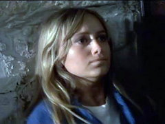 Susan George in white shirt with hard..