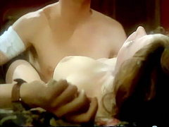 Sylvia Kristel starts to undress and..