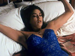 Teri Hatcher tied up in hot blue..