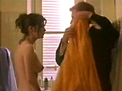 Awesome actress Audrey Tautou hot nude movie scene