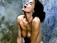 Sexy Laura Gemser having fun with another hot babe