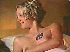 Attractive Actress Drew Barrymore In..