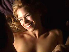 Naughty Billie Piper having sweet sex..