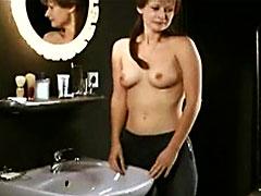 Sexy Annett Renneberg shows her..