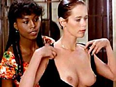 Actress Sylvia Kristel in hot lesbian..
