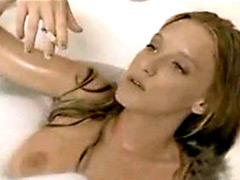 Awesome Ludivine Sagnier shows her beautiful boobs