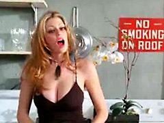 American actress Diora Baird shows her..