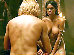 Pretty Rosario Dawson having sex with..