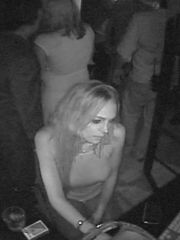 Seductive Lindsay Lohan carrying out a..