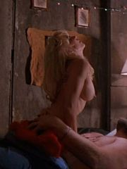 Hot Babe Linnea Quigley Lying Naked On..